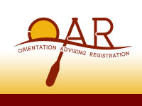Orientation Advising Registration Logo