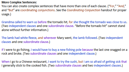 What Are Subordinating Conjunctions And How Do I Recognize Them Cwi