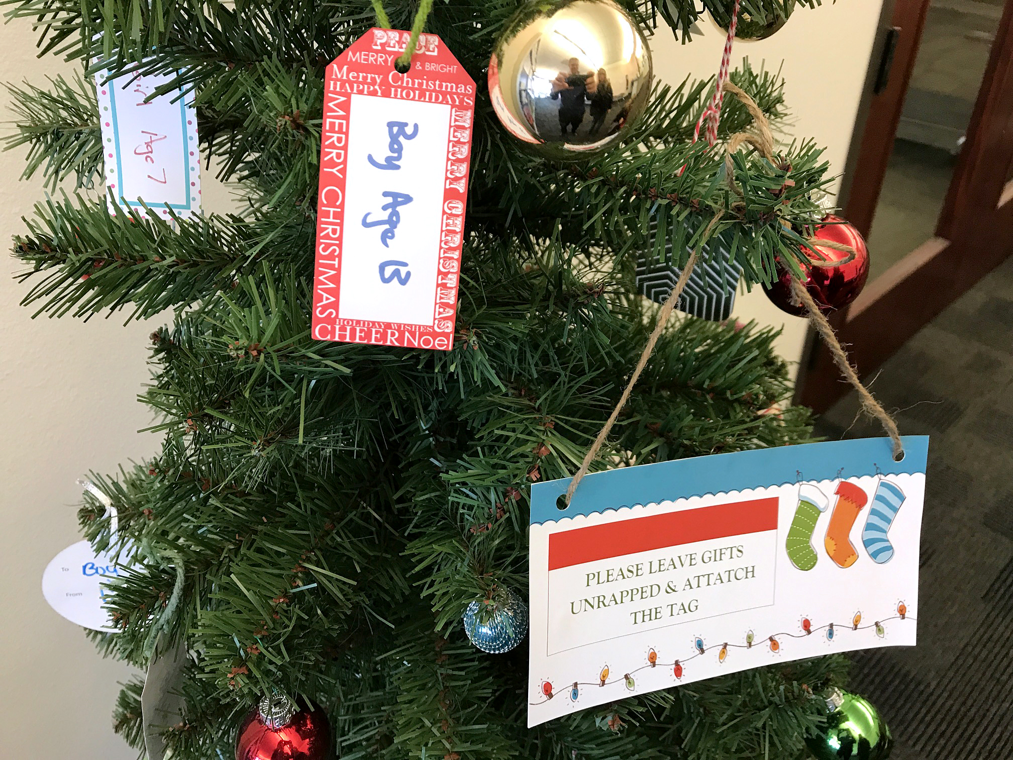 CWI Donation Drives. The 9th Annual CWI Giving Tree gift drive is in full swing at the College!