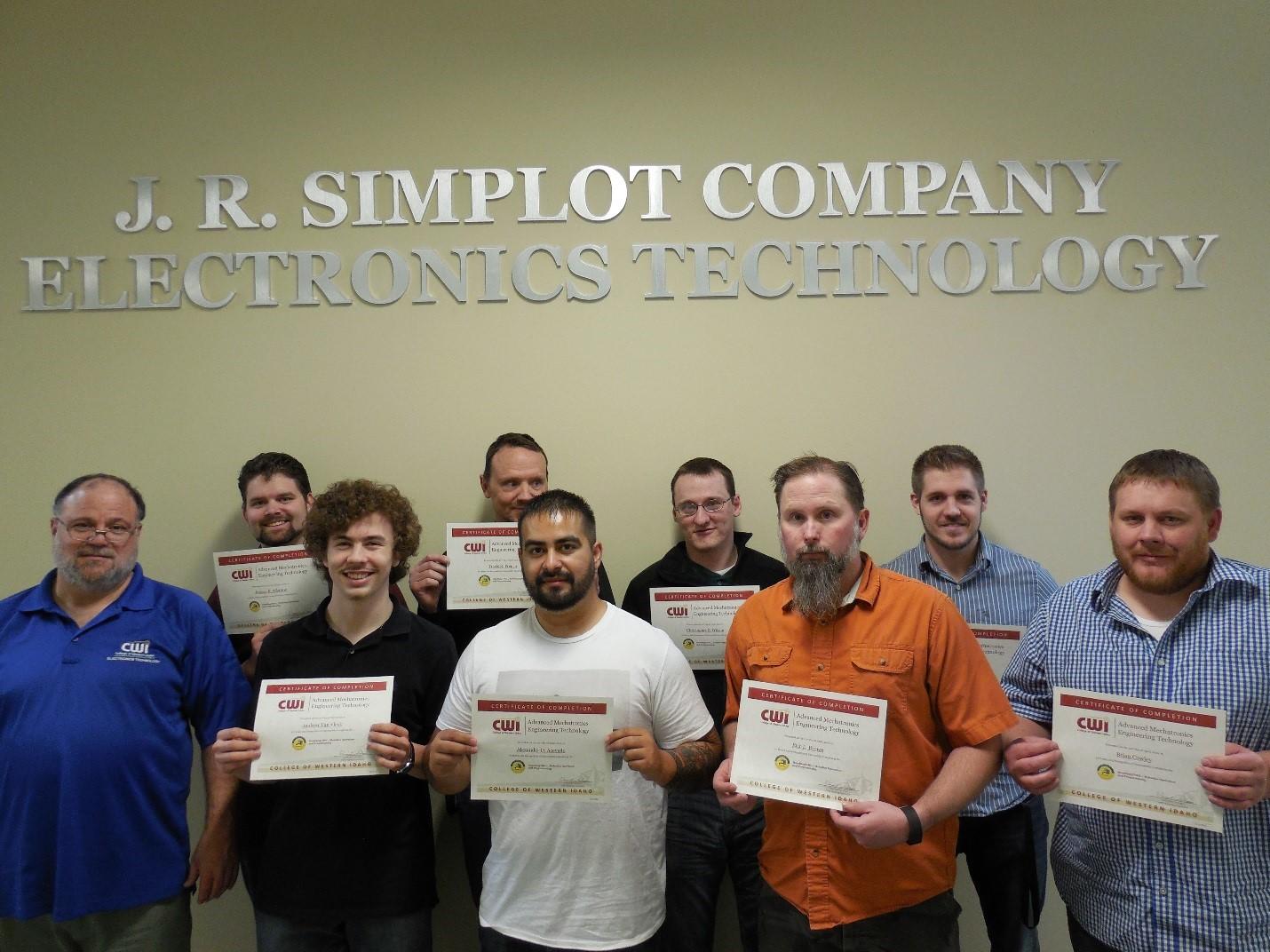 Mechatronics Program Receives Certification Cwi
