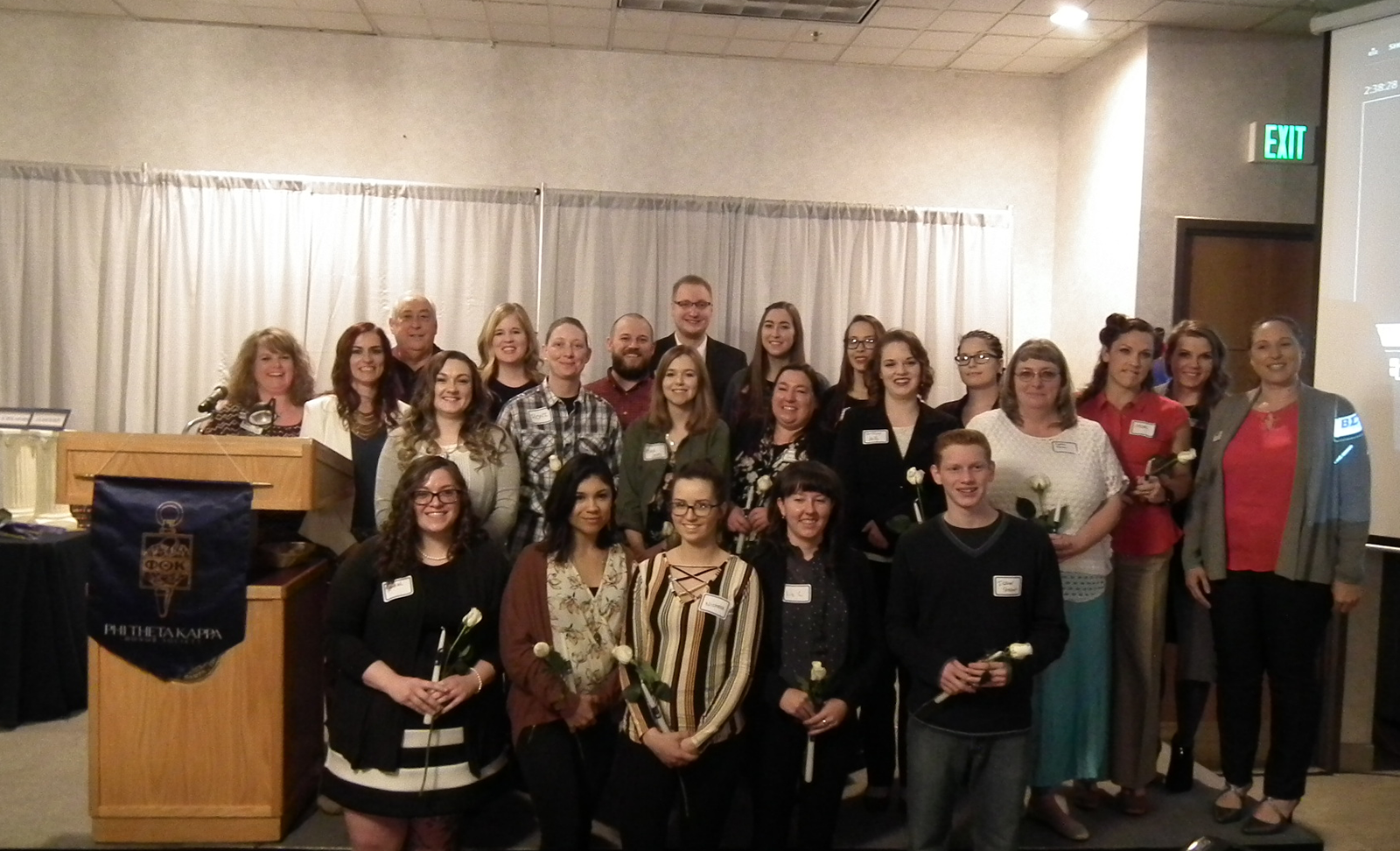 Honor Society Welcomes New Members   CWI