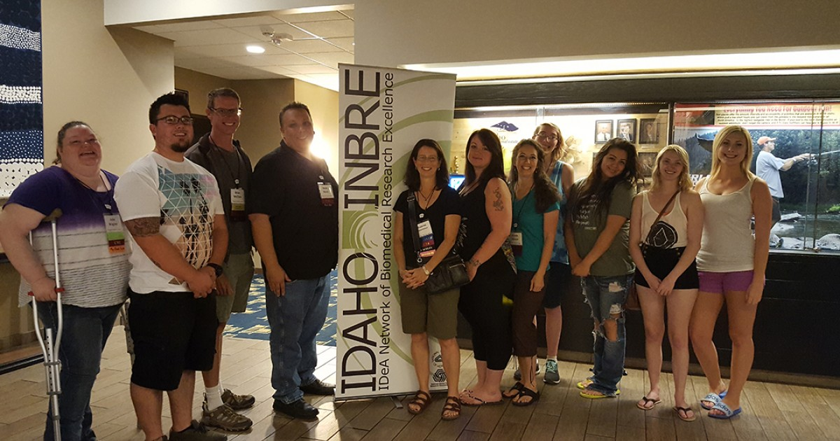 Technology Management Image: Students Present At Statewide Research Conference