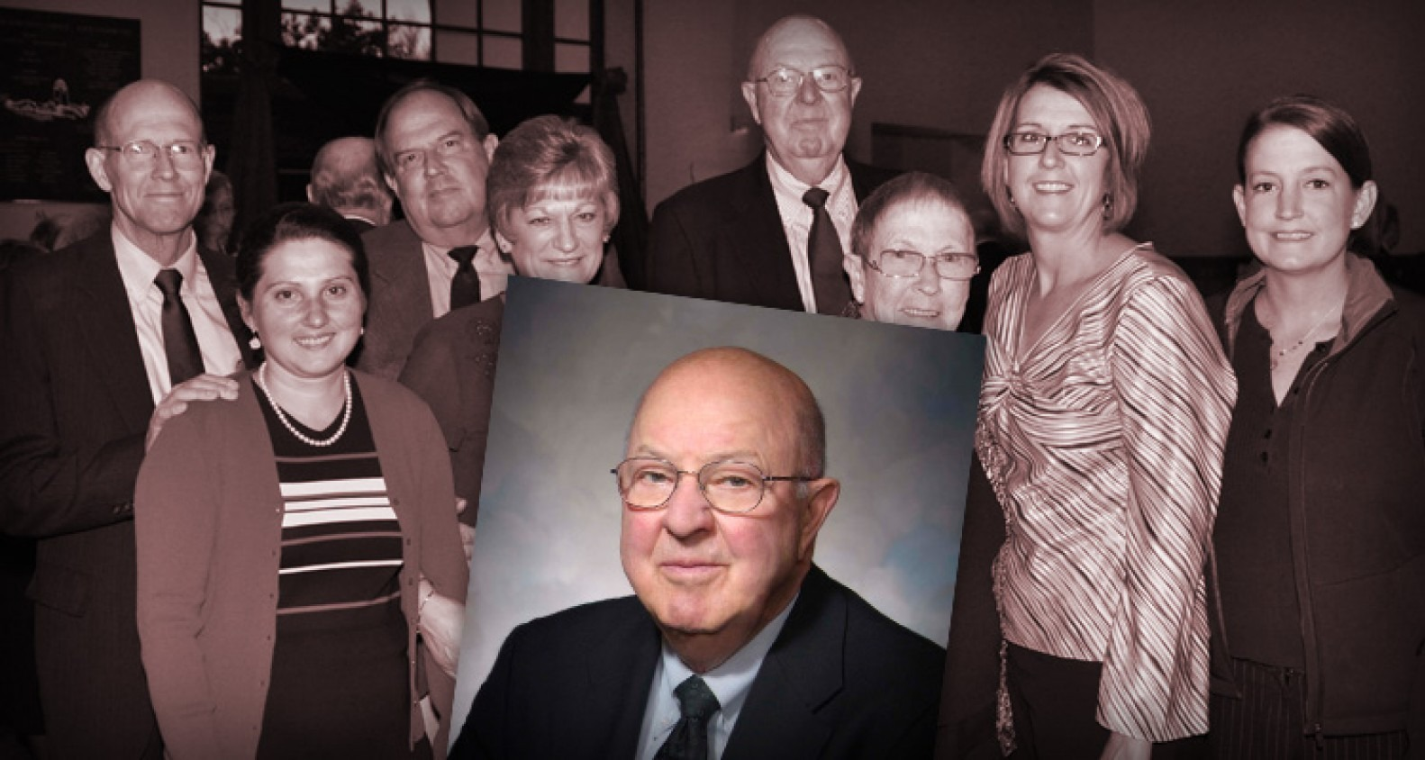 Photo of S. Hatch Barrett with family.