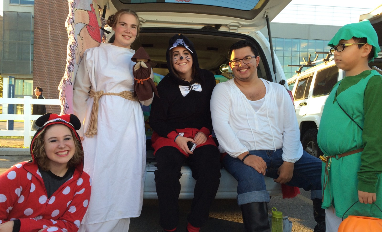 Title - TIPPS Leadership Club members dressed as Disney characters