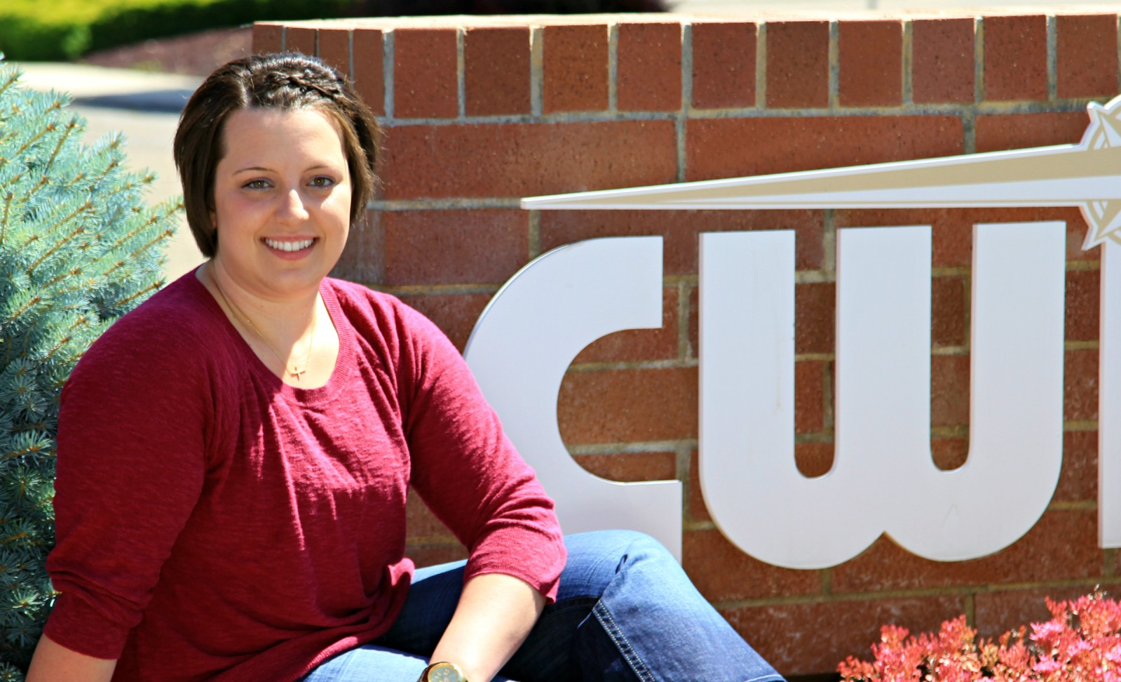 CWI Alumni and Scholarship Recipient Jayme Thomas, 2016