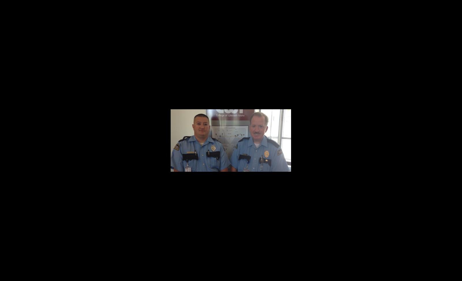 Title - Dan Callsen (left) and Steve Corman (right)