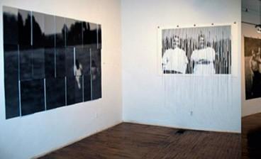 Traci Molloy's White Dandelions installation.