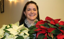 Jacqueline Correnti, Horticulture student and Presidential Ambassador