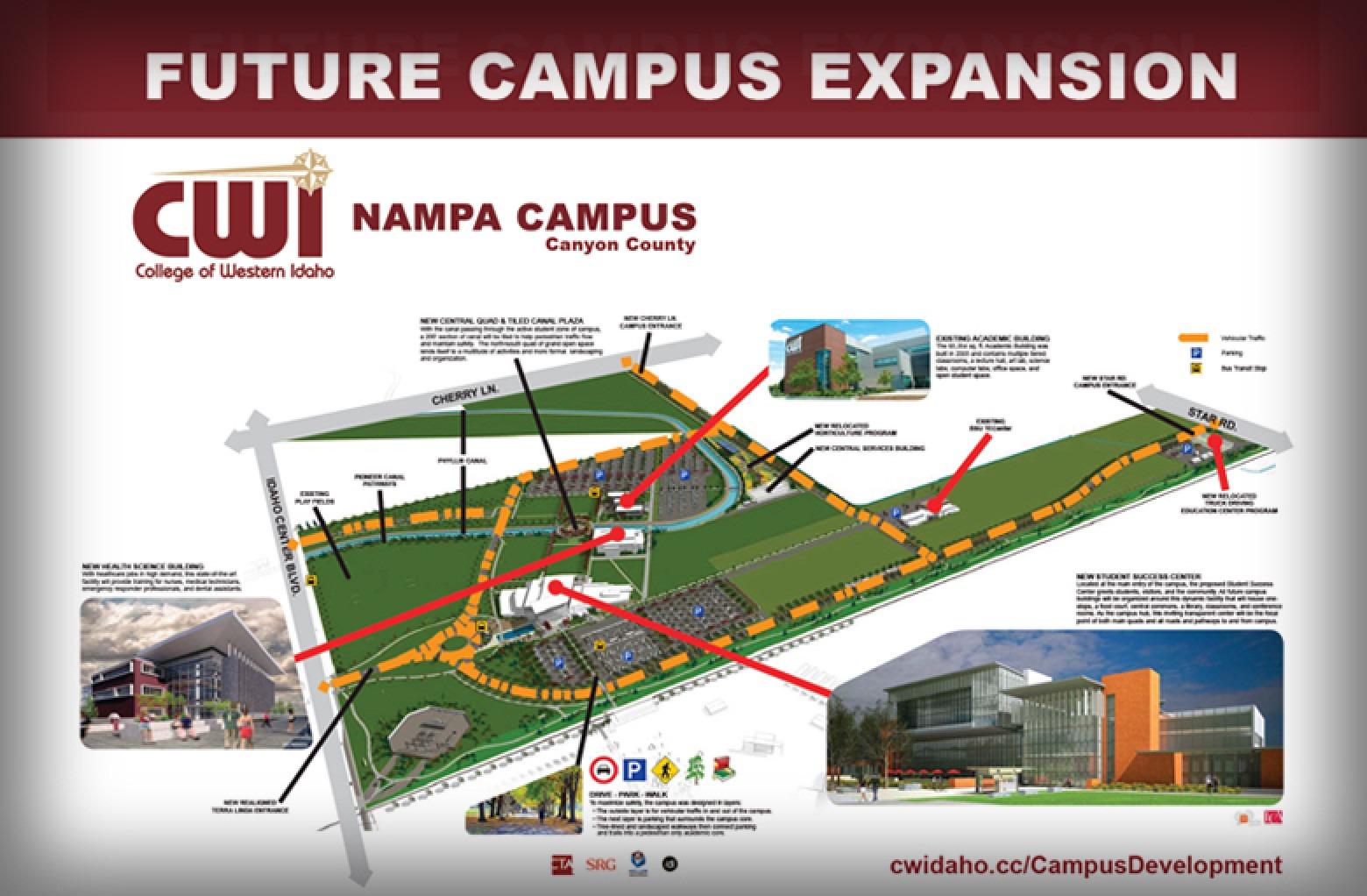 Nampa Campus Plans