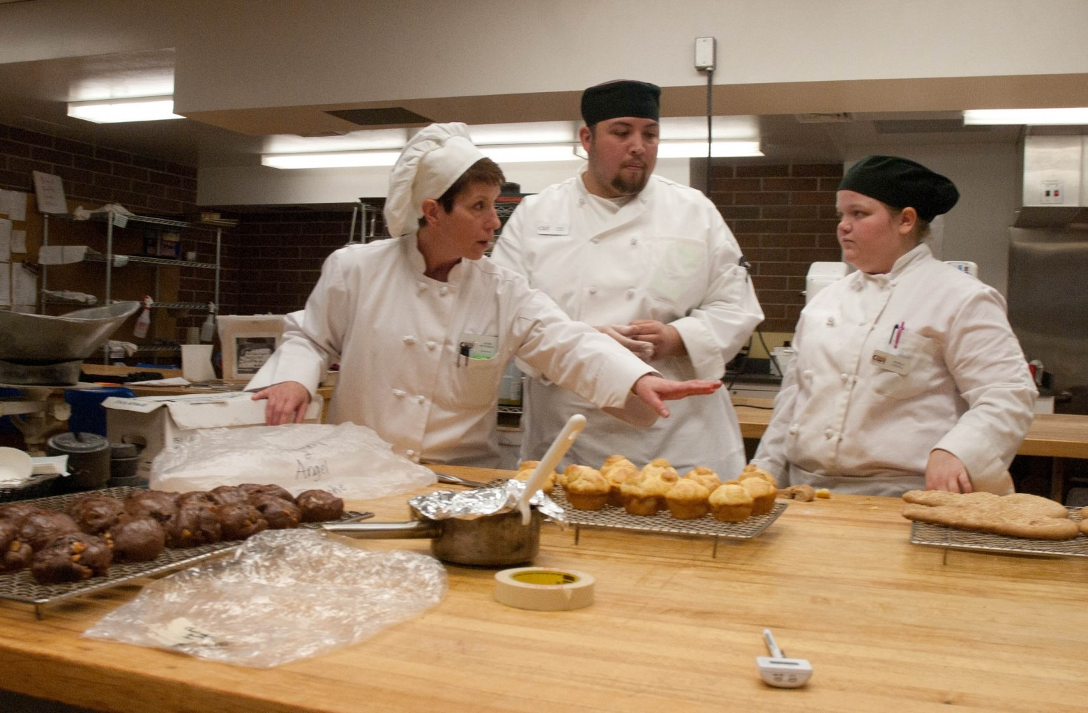 Baking And Pastry college now classes for high school students