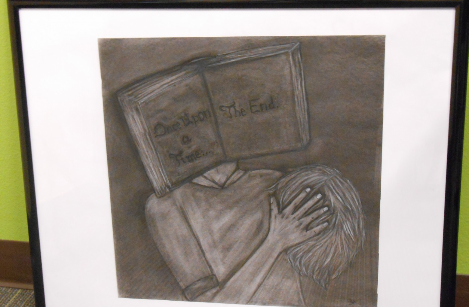 """Lost My Head in a Book""  Samantha Haskell"