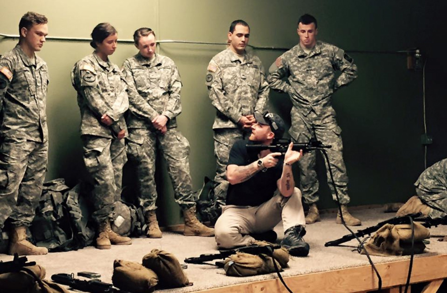 Military Science Army Rotc Cwi