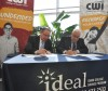 Title - Idaho State Treasurer Ron Crane (left) and College of Western Idaho President Bert Glandon (right) sign an agreement between CWI and the IDeal-Idaho 529 College Savings Program.